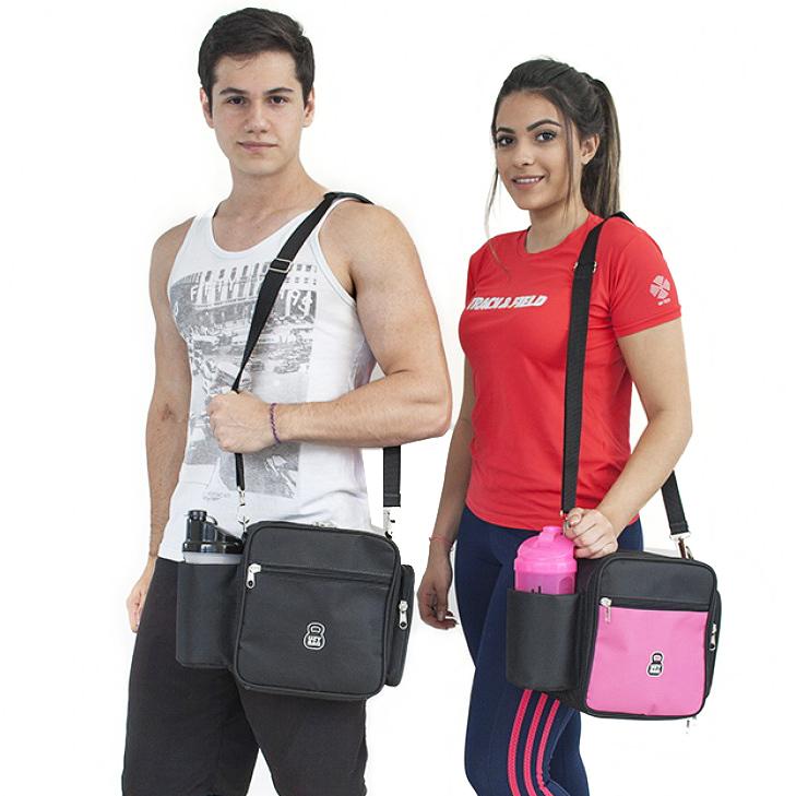 Marmita Fitness para Academia e serviço 3 Refeições Mini