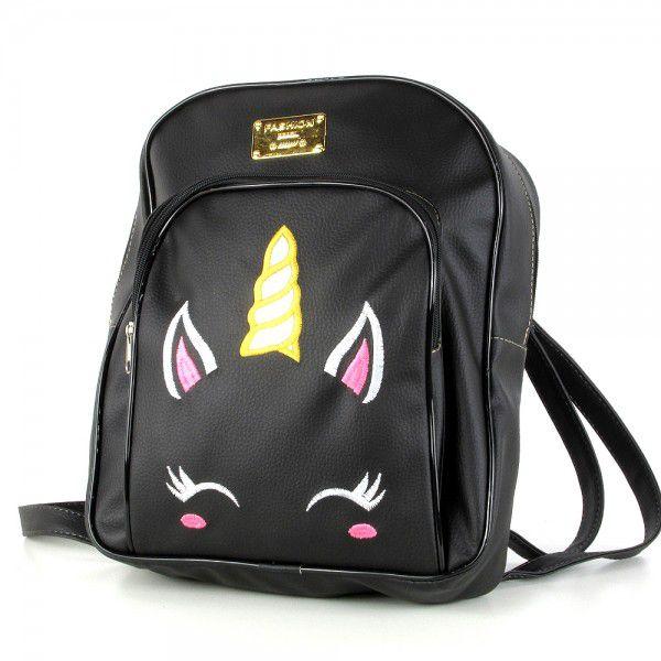 Mochila Bolsa Feminina Pequena modelo Premium unicornio