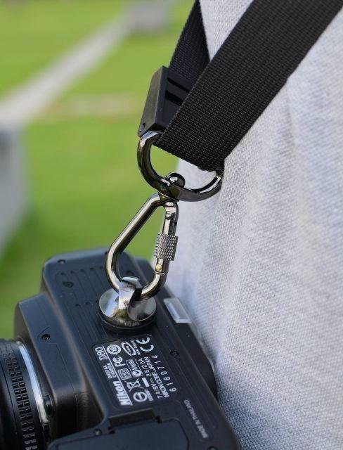 kit 2 Parafuso 1/4 Para Alça Camera Dsrl Fotograficas Filmadora