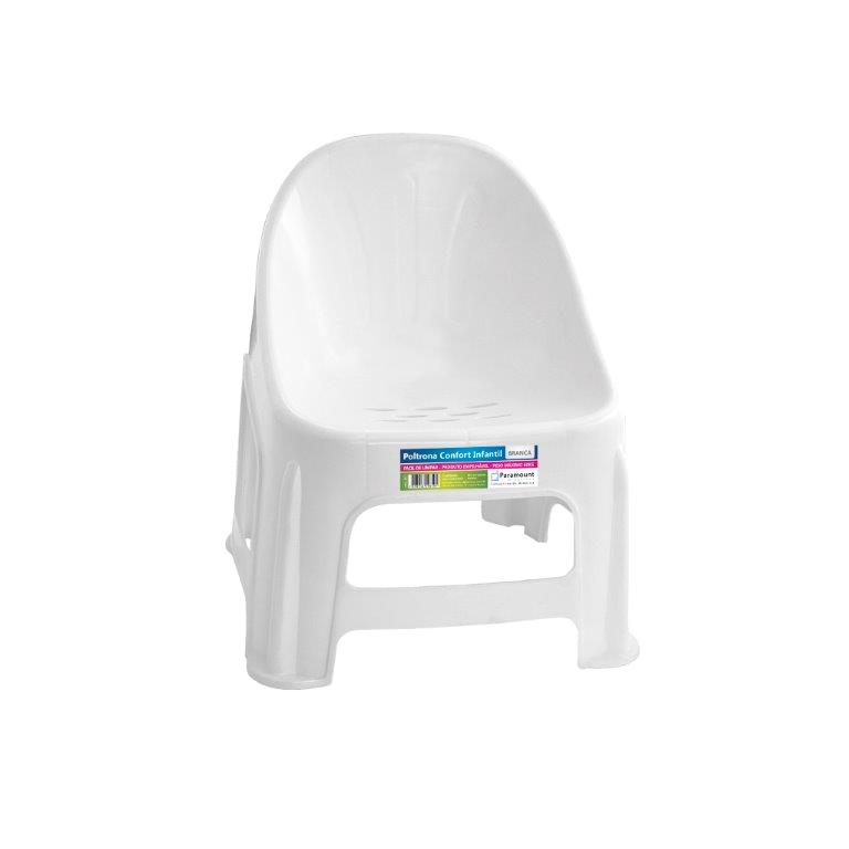 Poltrona Cadeira Conforto Infantil Paramount Coloridas