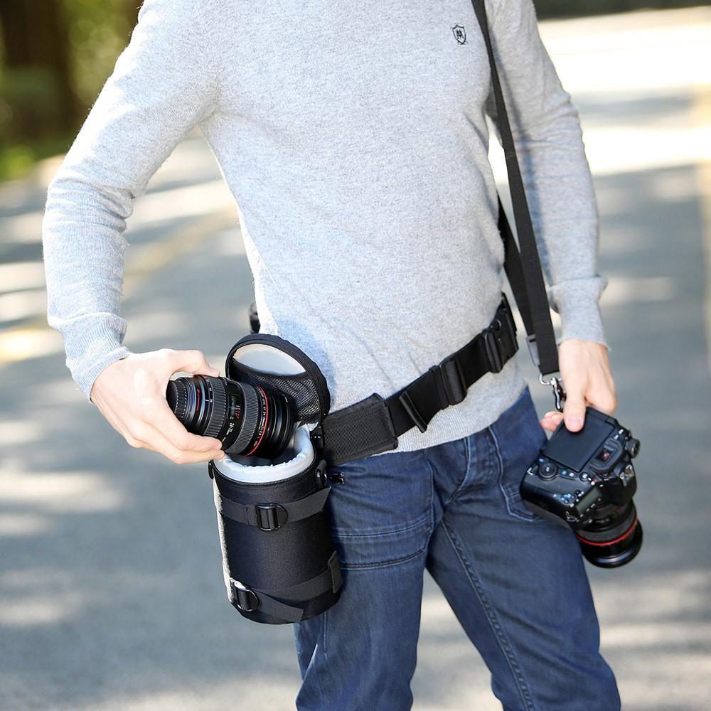 Porta Lente Case Macio prova dagua p/ lentes DLP-1 78 x 125mm