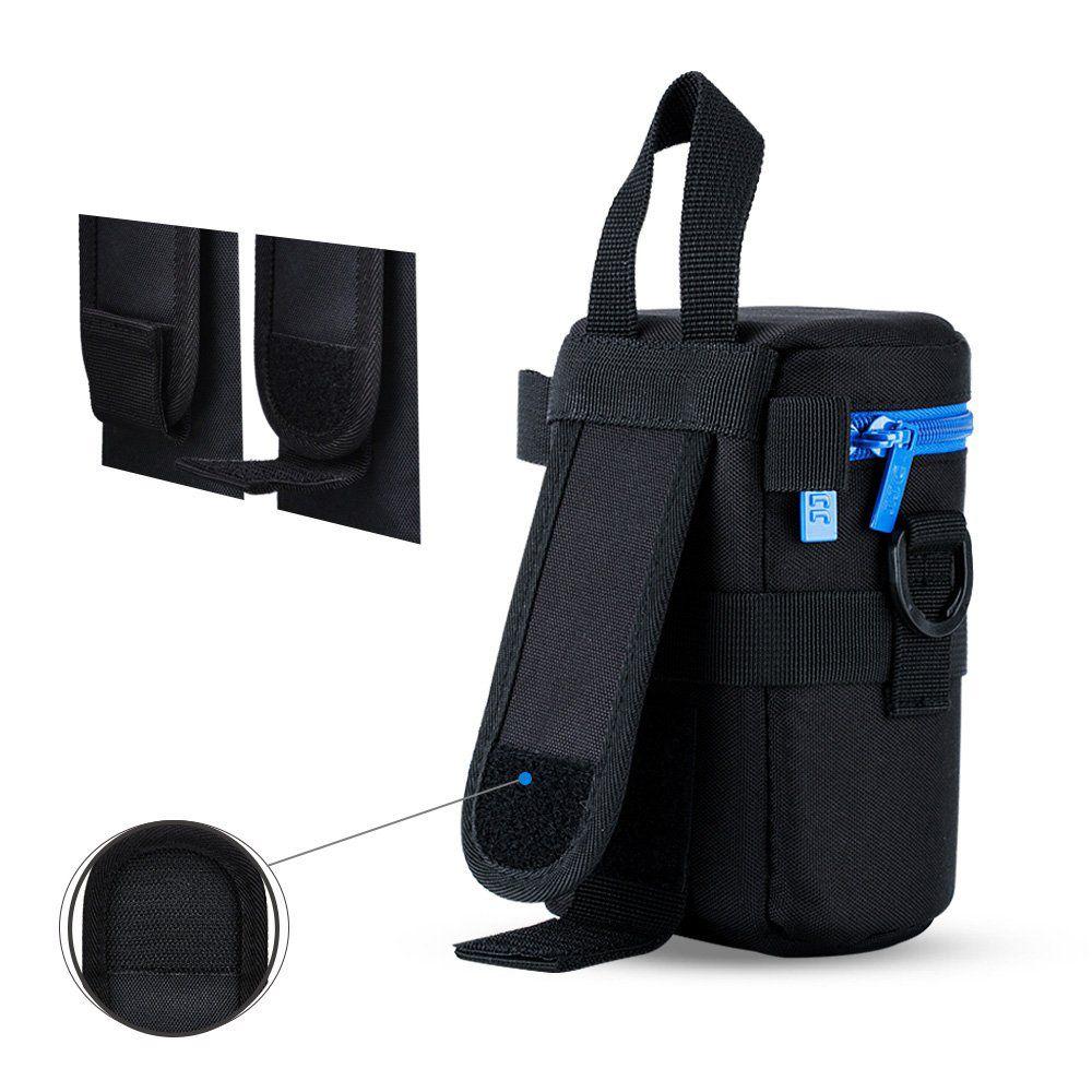 Porta Lente Case Macio prova dagua p/ lentes DLP-2 80 x 150mm