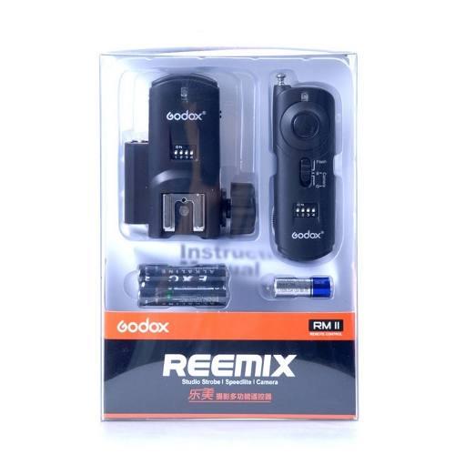 Radio Flash Reemix N3 3 Em 1 Greika Godox 16 Canais P/ Nikon