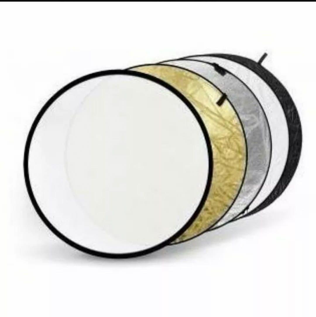 Rebatedor Circular Dobrável 5 Em 1 - 80 Cm