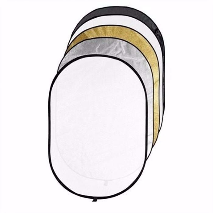 Rebatedor Difusor Circular Dobrável 7 Em 1 - 112 x 180 cm
