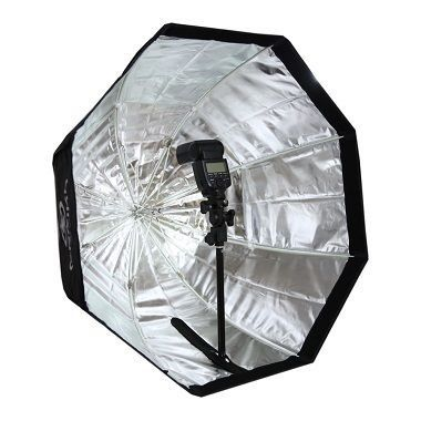 Softbox Sombrinha 120cm Octabox para Iluminação de Estúdios Fotográficos