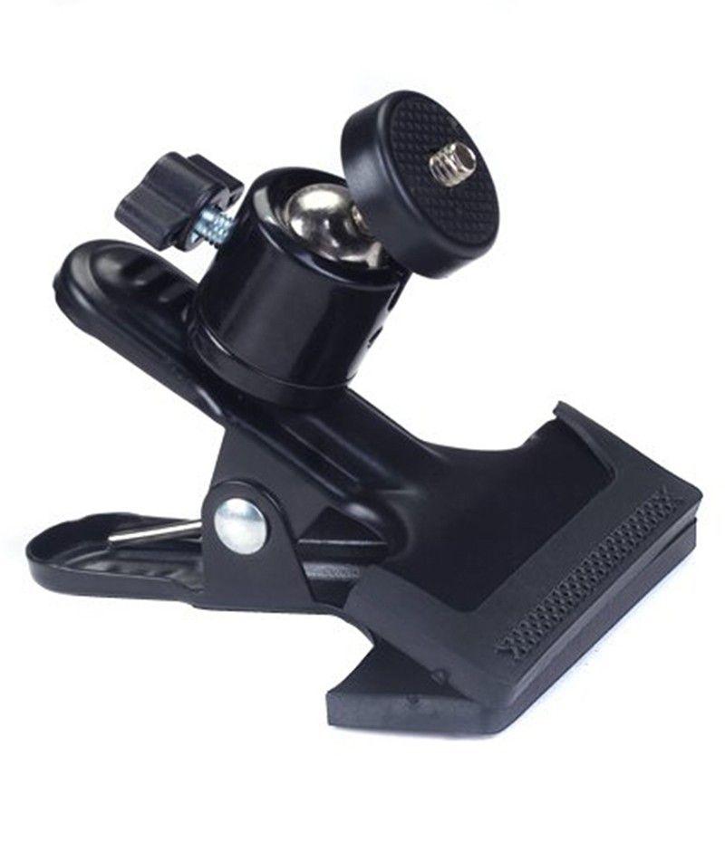Suporte Garra C/ Ballhead 360 Rosca De 1/4 Câmera Dslr presilha PK-BC07