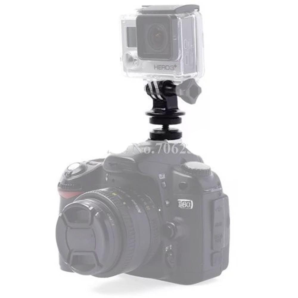 Suporte Gopro Flash Dslr Camera TriPod Parafuso Adaptador
