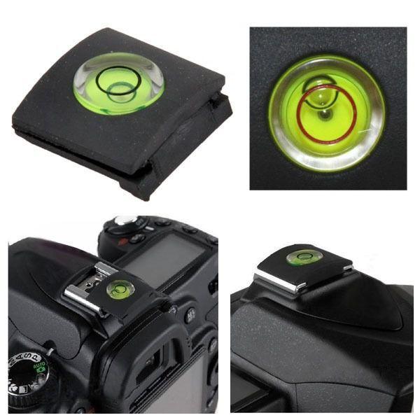 Tampa Protetora Sapata C/ Nível Bolha Flash Dslr Canon