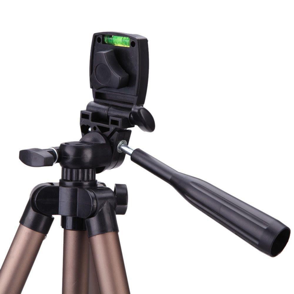 Tripé Weifeng WT-3130 (1,24m) com  suporte celular e  Bag Transporte Foto Ou Video