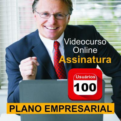 ASSINATURA CORPORATIVA - 100 Usuários - Videocurso Online