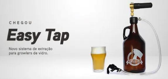 Easy tap: sistema de extração para o seu growler de vidro!