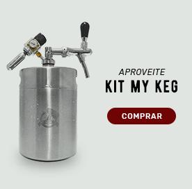 kit my keg: sua nova chopeira portátil.