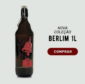 Growler Berlim 1l Coleção Rock 80/90: inspiradas nas bandas AC/DC, Metallica e muito mais.