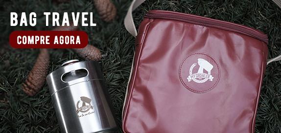 Conheça as nossas Growler Bags, perfeitas para você transportar o seu Growler.
