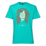 Camiseta - Coleção Twenty Seven's - Janis Joplin - Azul