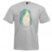 Camiseta - Coleção Twenty Seven's - Kurt Cobain - Cinza
