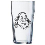 Copo Pint 473ml - Coleção Pensadores da Cerveja - Benjamin Franklin - Preto