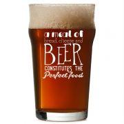 Copo Pint 473ml - Coleção Pensadores da Cerveja - Rainha Elizabeth I