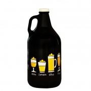 Growler Americano 1,89l - Coleção Cervejeiros - Copos de Cerveja