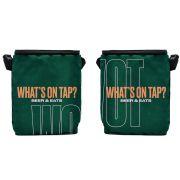 Growler Bag To Go em nylon personalizada para 2 growlers