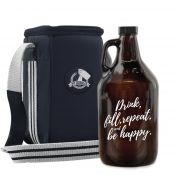 Kit Be Happy #1 - Growler Americano + Growler Bag Travel