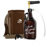 Kit Be Happy #2 - Growler Americano + Easy tap + Growler Bag Travel