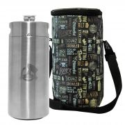 Kit My Keg #3 - Mini Keg, Mini Barril 4L My Growler + Growler Bag To Go para 1 growler