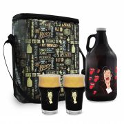 Kit Rock'n'Growler #9 - Growler Americano + Copos Pint 473ml + Growler bag To Go