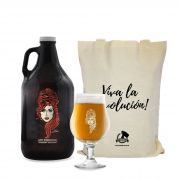 Kit Twenty Seven's #3 - Growler Americano + Taça Dublin 400ml + Ecobag