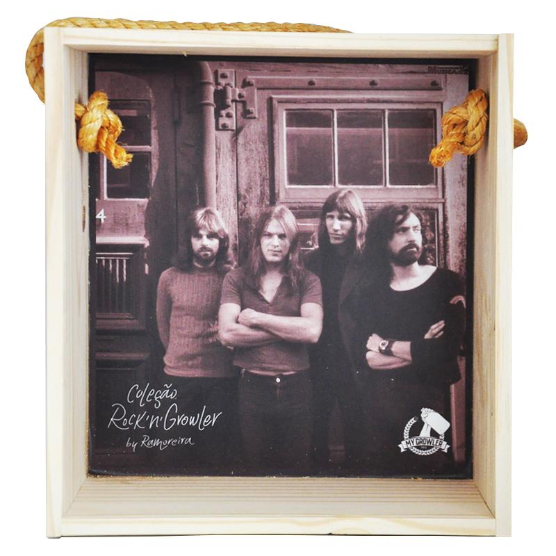 Quadro para coleção de bolachas de chopp - Coleção Rock'n'Growler - Pink Floyd