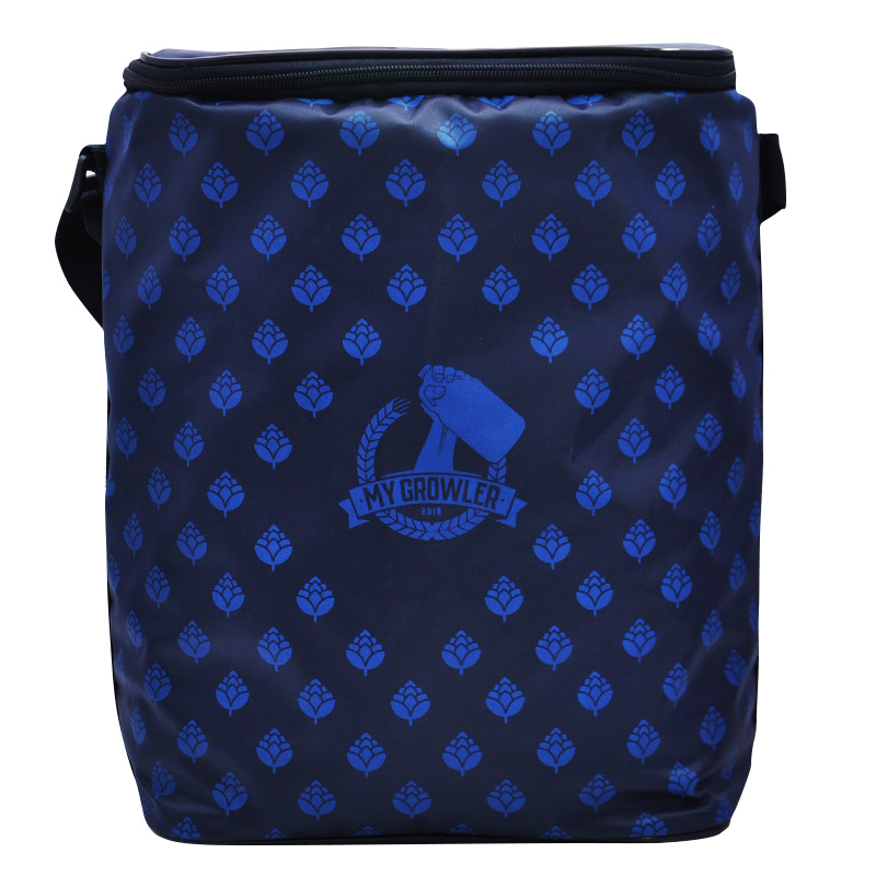 GROWLER BAG TO GO PARA 2 GROWLERS - AZUL