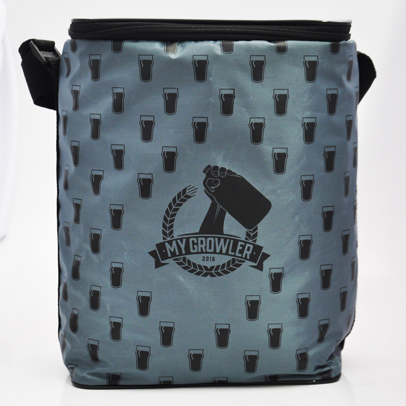 GROWLER BAG TO GO PARA 2 GROWLERS - CINZA