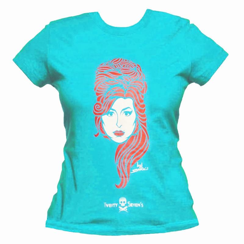 Camiseta - Coleção Twenty Seven's - Amy Winehouse
