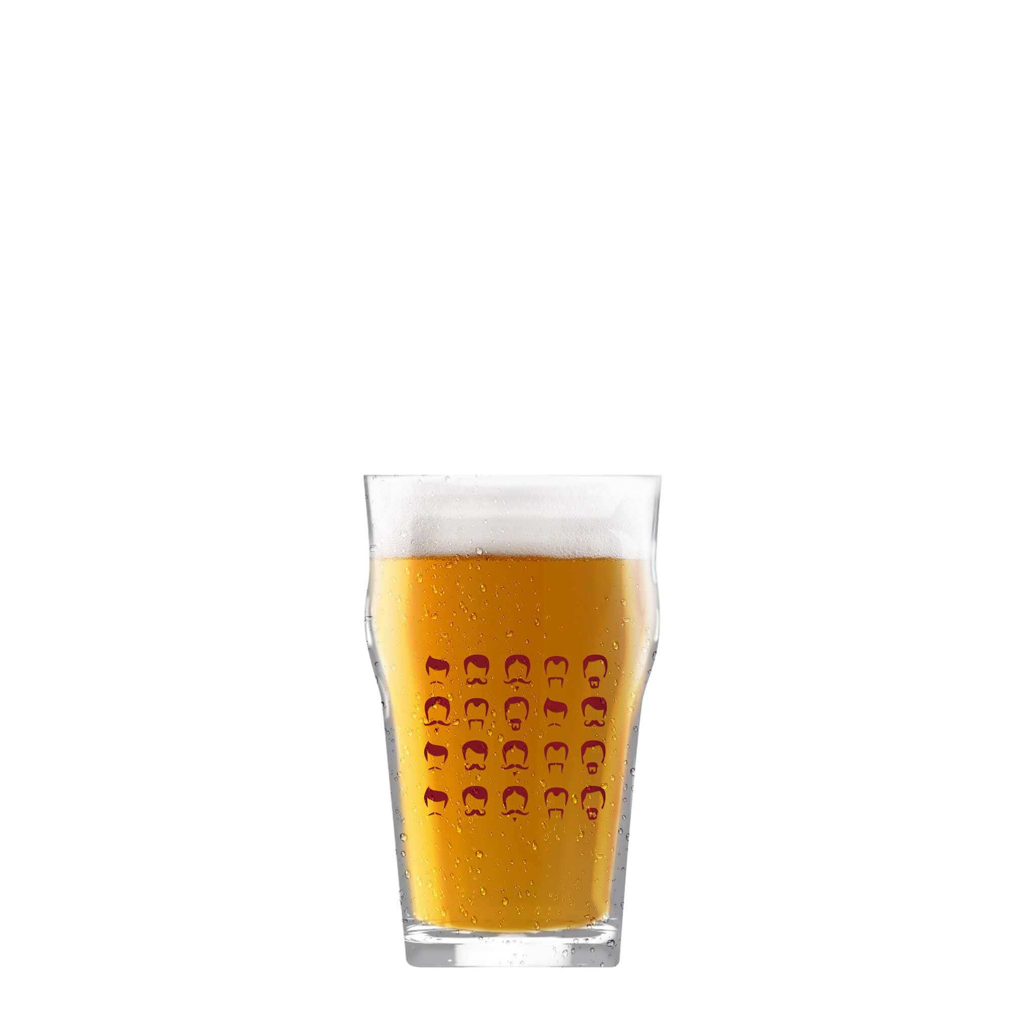 Copo Pint 473ml - Coleção Cervejeiros - Bigodes