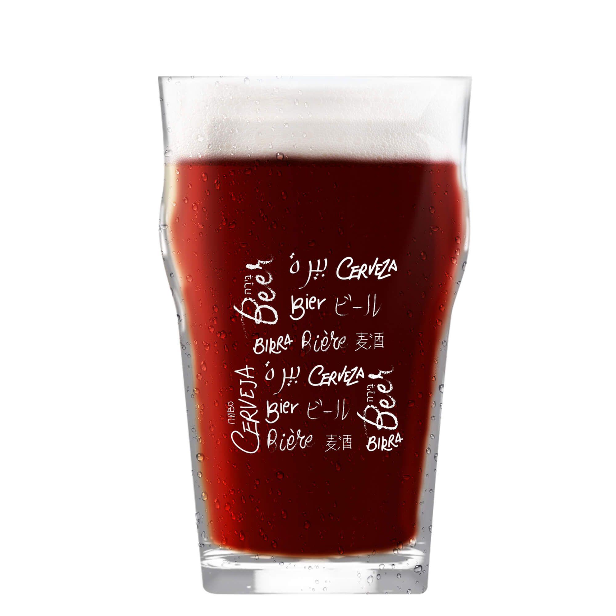 Copo Pint 473ml - Coleção Cervejeiros - Idiomas