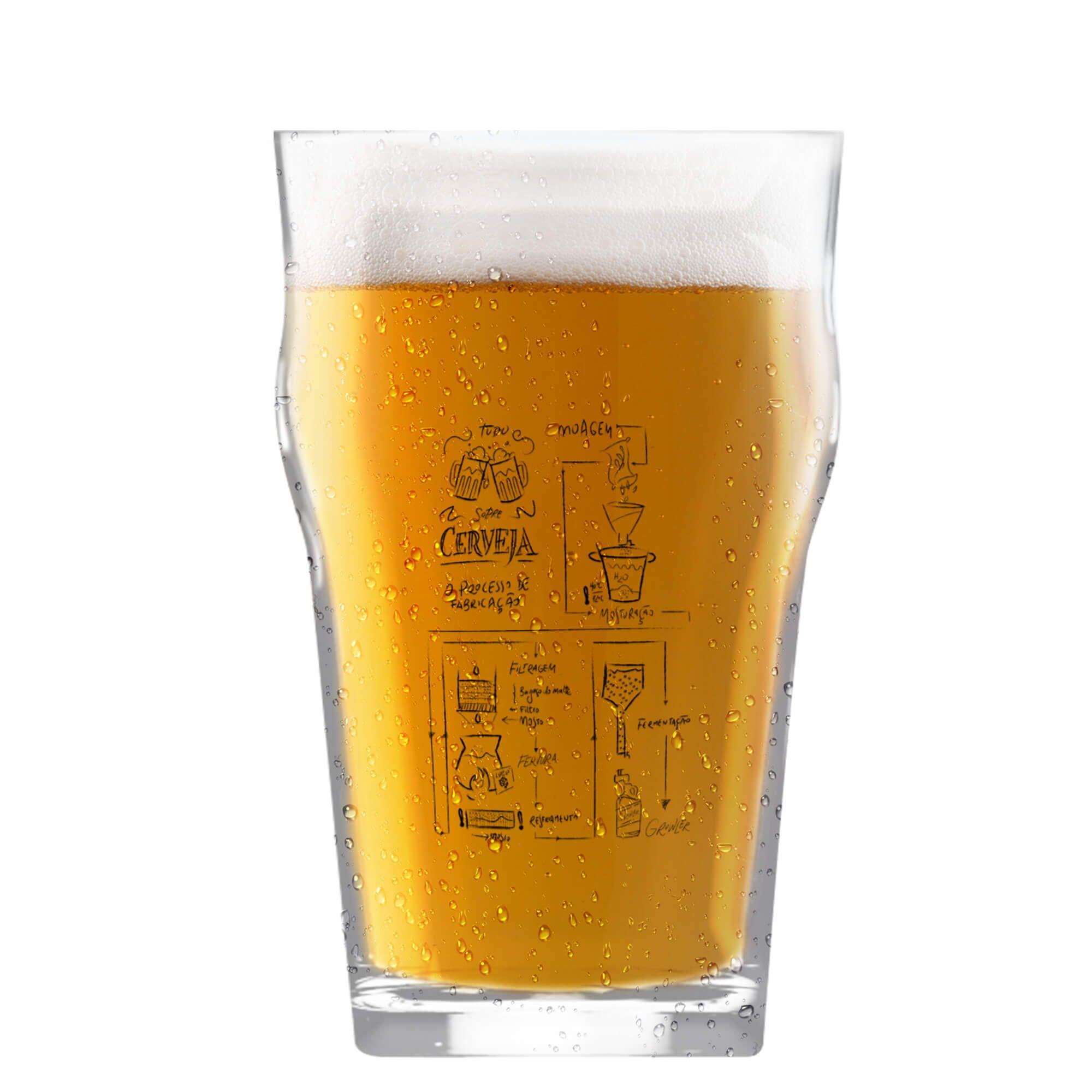Copo Pint 473ml - Coleção Cervejeiros - Processo Cervejeiro