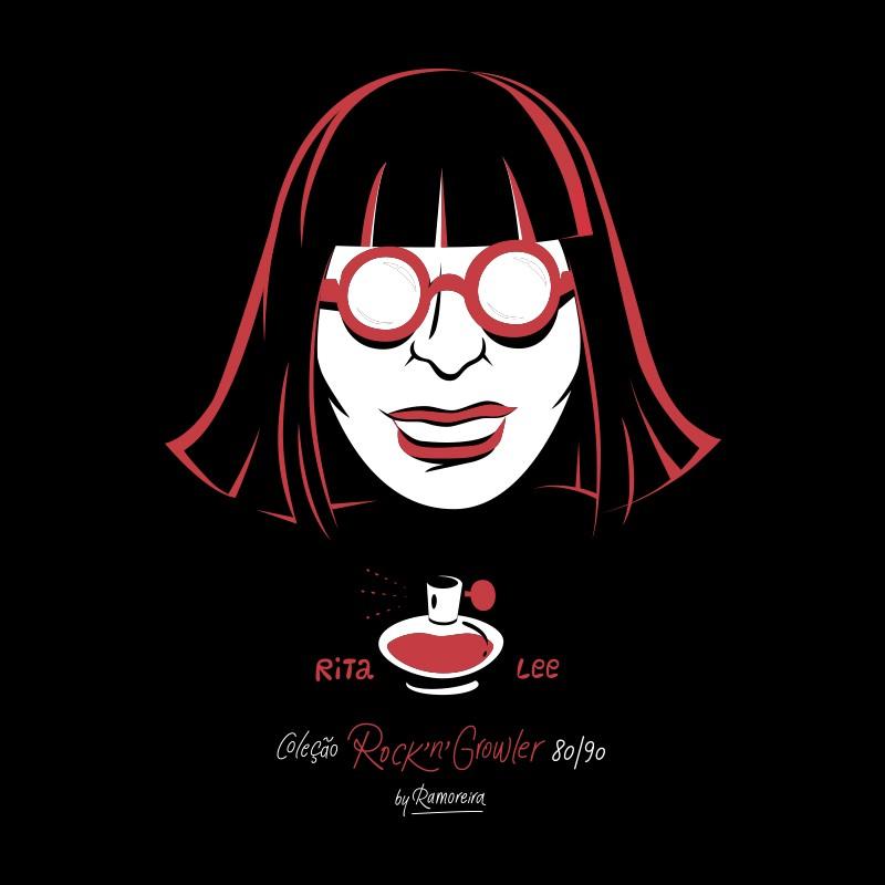 Copo Pint 473ml - Coleção Rock'n'Growler 80/90 - Rita Lee
