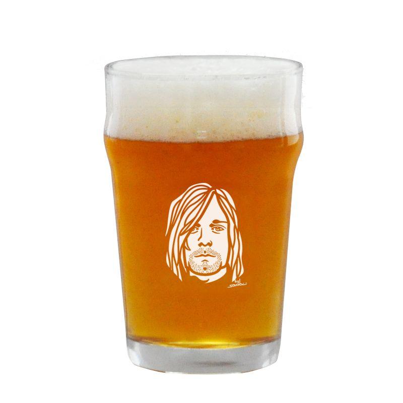 Copo Pint 473ml - Coleção Twenty Seven's - Kurt Cobain