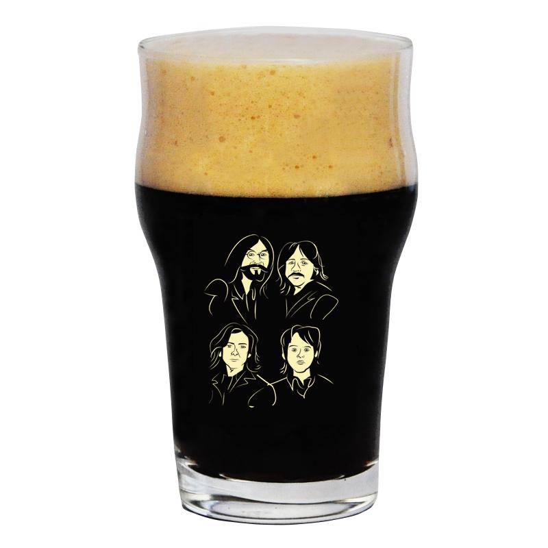 Copo Pint 473ml - Coleção Rock'n'Growler - Beatles