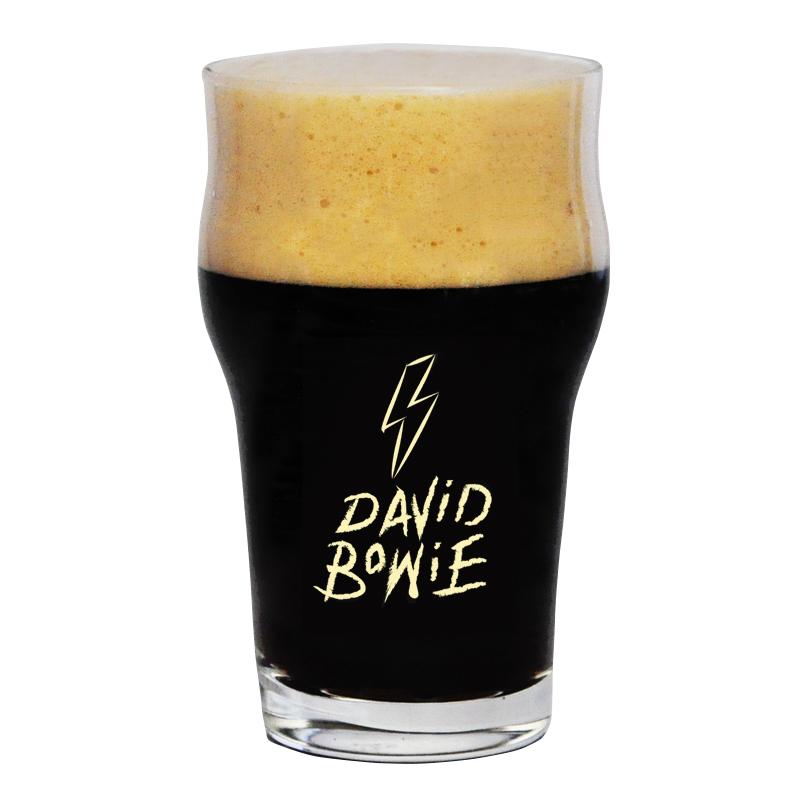 Copo Pint 473ml - Coleção Rock'n'Growler - David Bowie