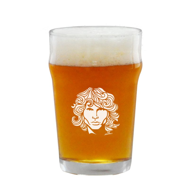 Copo Pint 473ml - Coleção Twenty Seven's - Jim Morrison