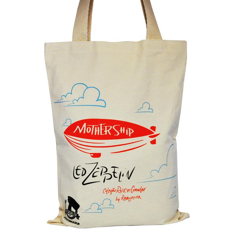 Ecobag para 2 growlers - Coleção Rock'n'Growler - Led Zeppelin
