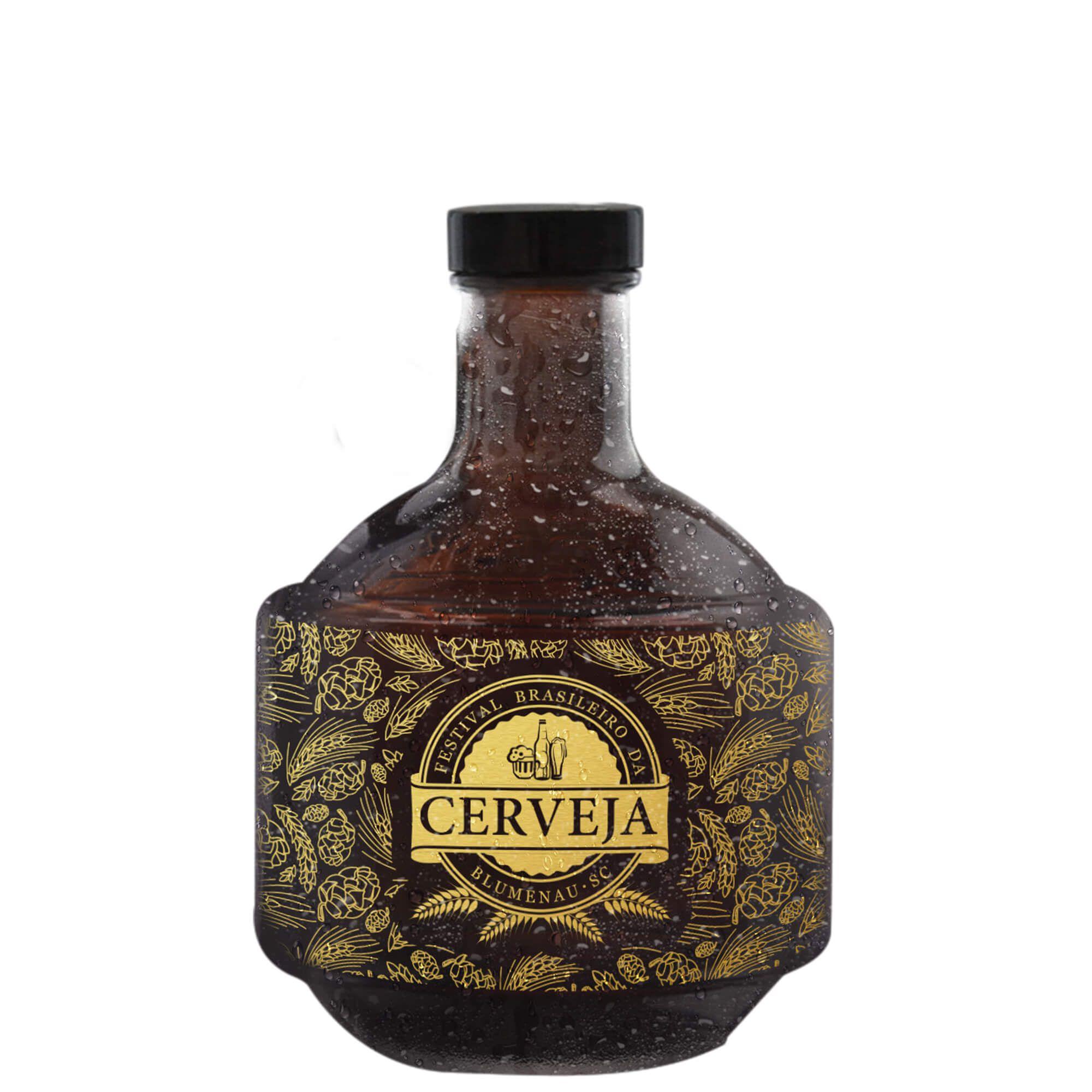 Golden Growler 1l - Festival Brasileiro da Cerveja Blumenau/SC