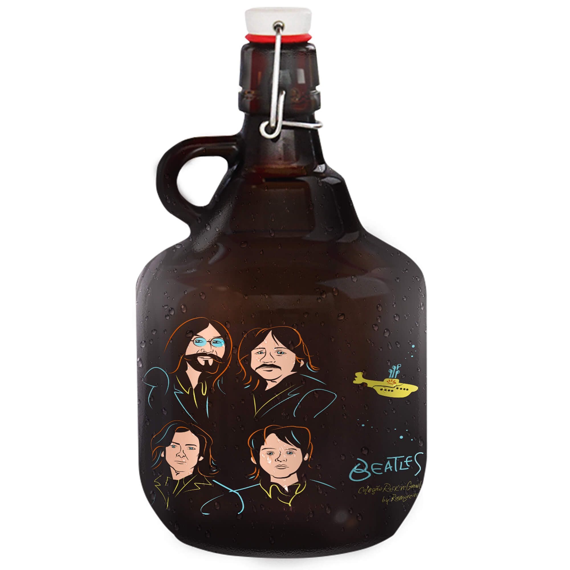 Grand Growler 2l - Coleção Rock'n'Growler - Beatles