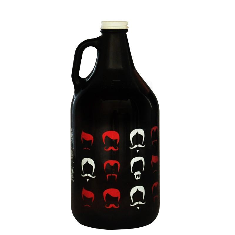 Growler Americano 1,89l - Coleção Cervejeiros - Bigodes