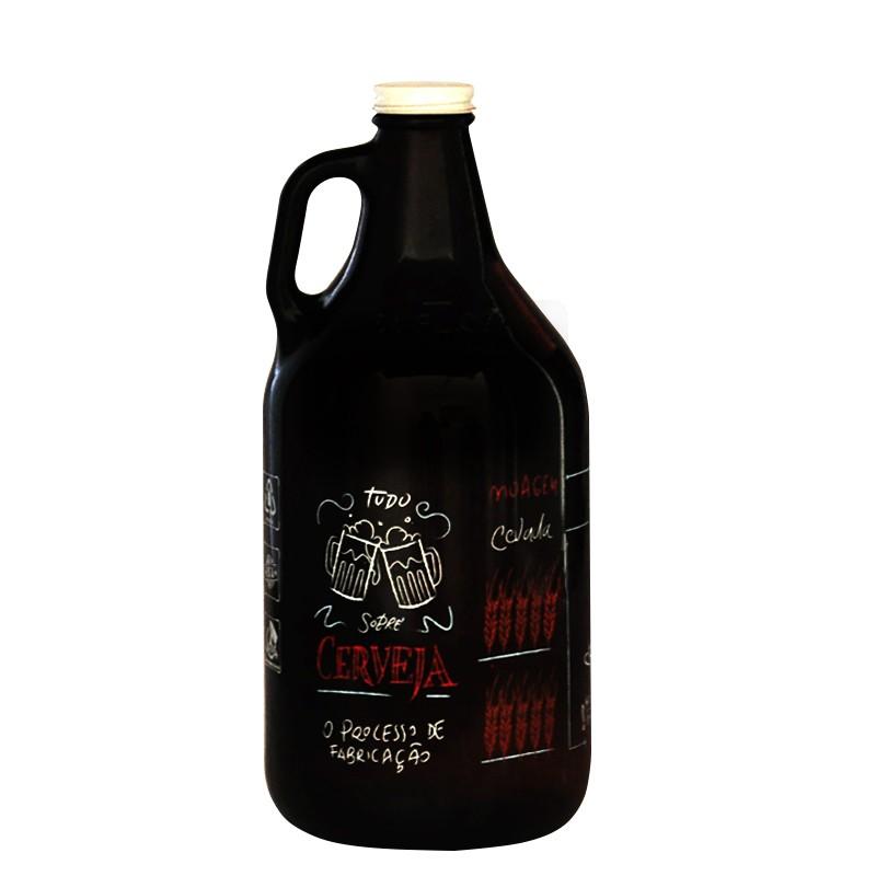 Growler Americano 1,89l - Coleção Cervejeiros - Processo Cervejeiro