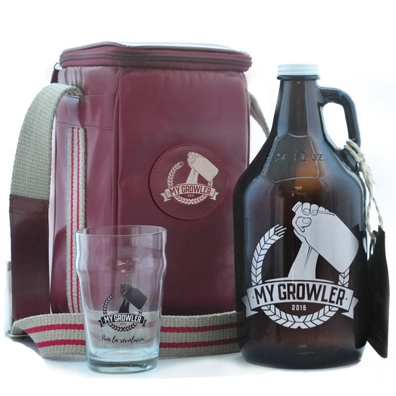 GROWLER BAG TRAVEL + GROWLER AMERICANO + HALF PINT - MY GROWLER