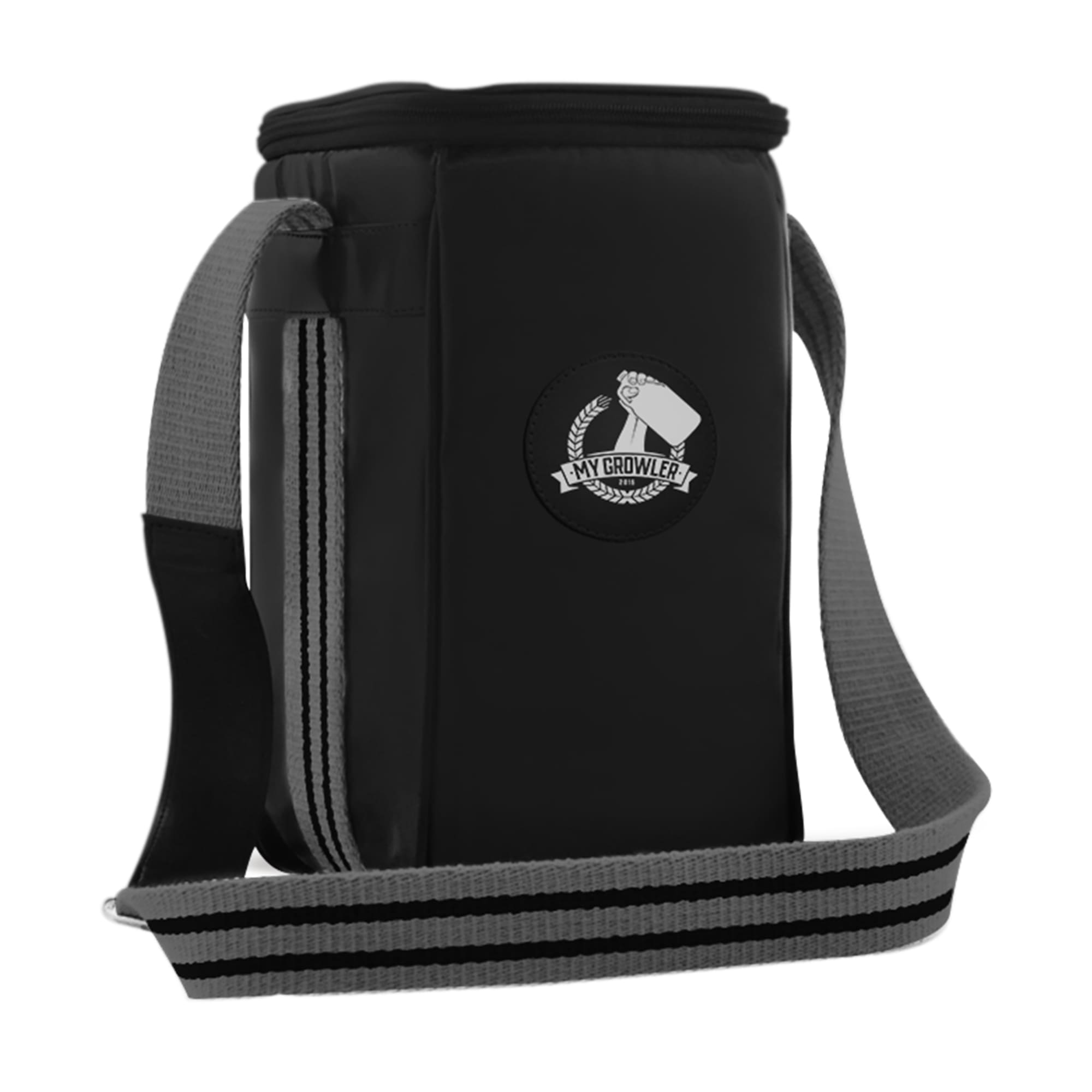 Growler Bag Travel para 1 growler - Preto