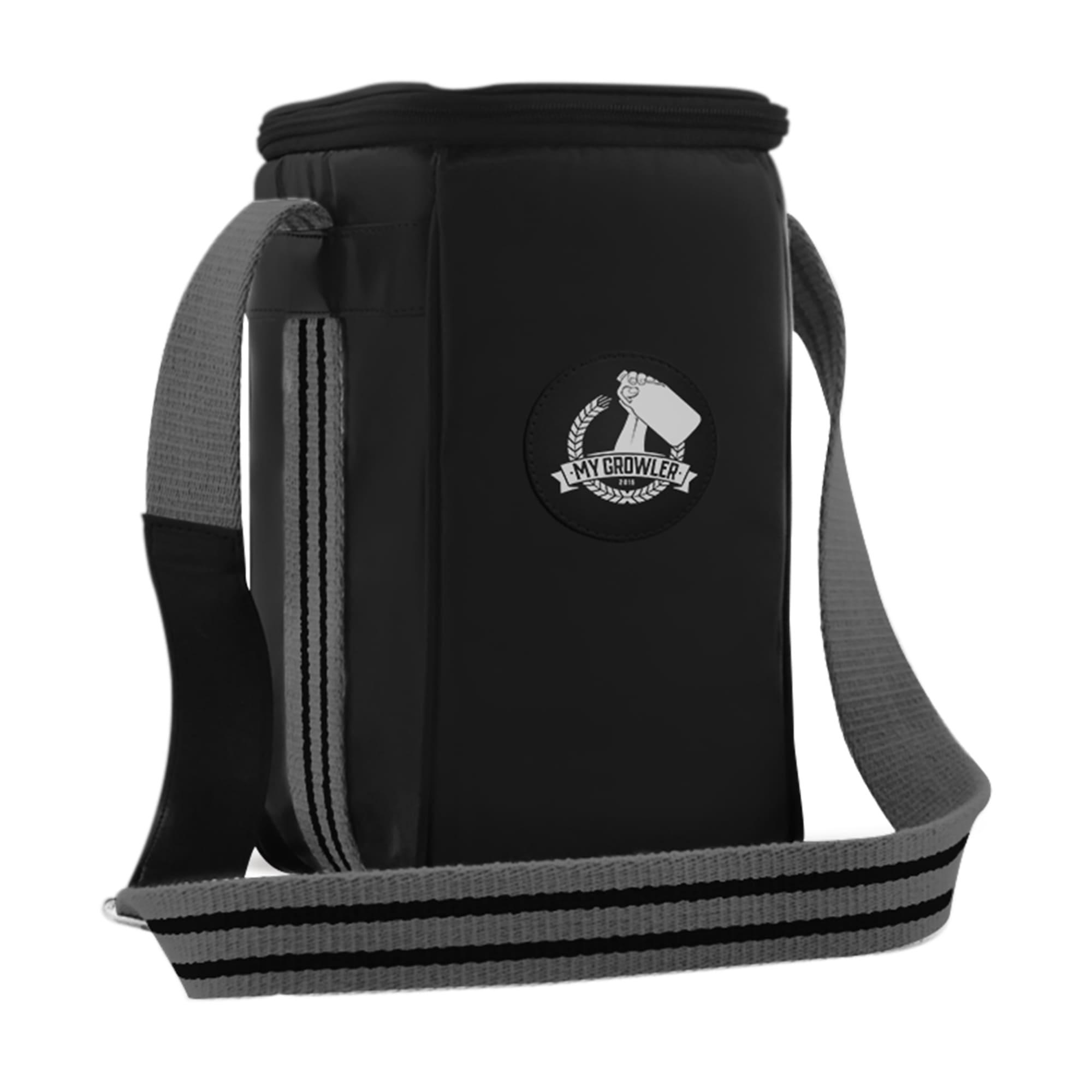 Growler Bag Travel para 1 growler - Preto